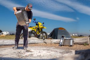 GIVI Adventure Motorcycle Hard Cases - Campfire Dead Out