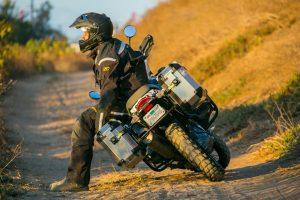 GIVI Adventure Motorcycle Hard Cases - Grab Handles