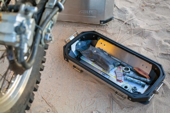 GIVI Adventure Motorcycle Hard Cases - Tool Tray