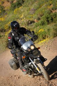 knobby dual sport adventure motorcycle tires