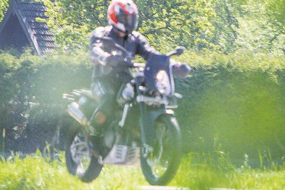 KTM 800 Adventure Spy Shot Front