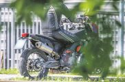 KTM 800 Adventure Spy Shot Rear