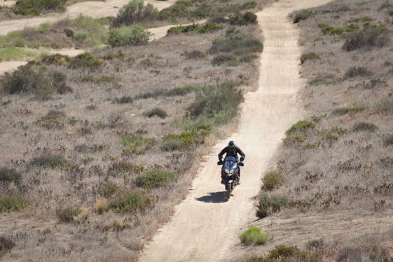 V-Strom 650 Off-Road Test