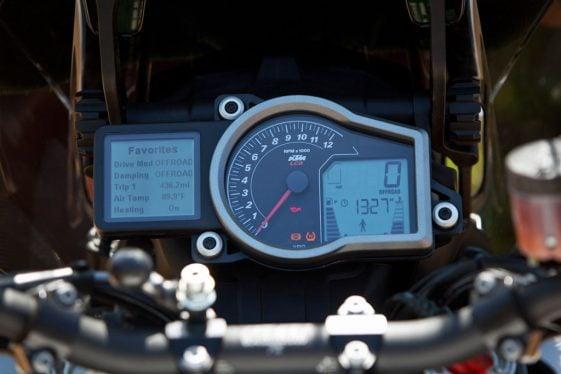 KTM 1290 Super Adventure Console