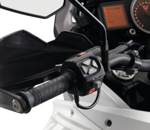 KTM 1290 Super Adventure Console and Handlebar Controls