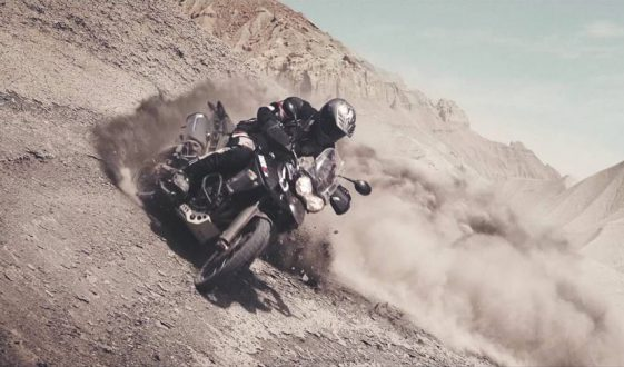 Triumph takes on Utah desert with Ernie Vigil
