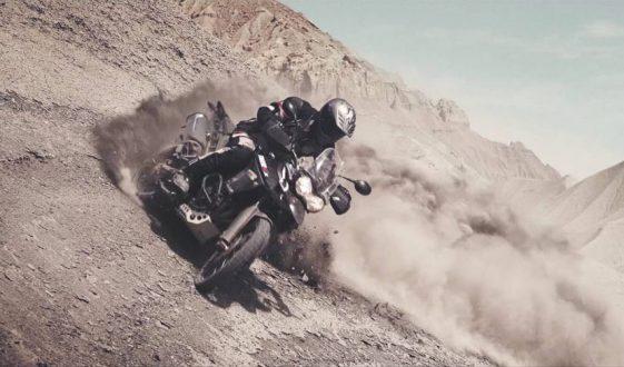 Triumph takes on Utah desert with Ernie Vigil