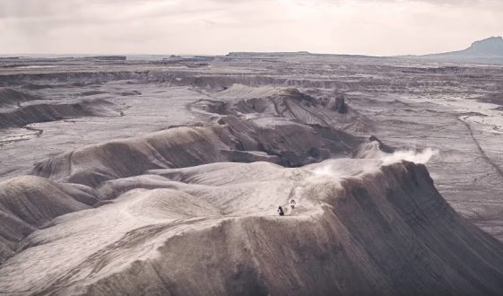 Triumph takes on the Utah desert with Ernie Vigil