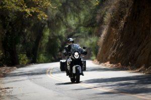 KTM 1290 Super Adventure cruising on the highway