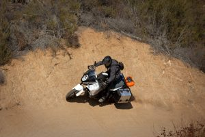 KTM 1290 Super Adventure Offroad wall ride