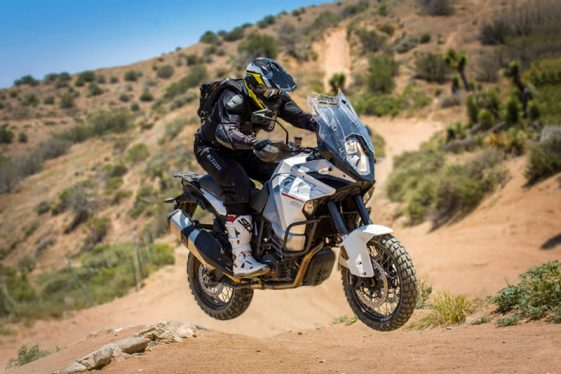 KTM 1290 Super Adventure Offroad Jump