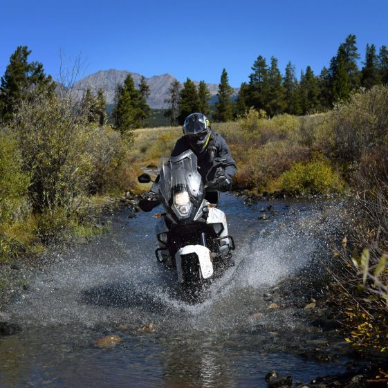 KTM 1290 Super Adventure Offroad River Crossing