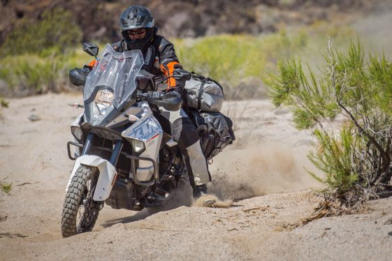 KTM 1290 Super Adventure offroad tires