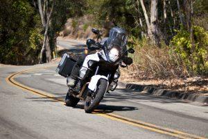 KTM 1290 Super Adventure in the twisties