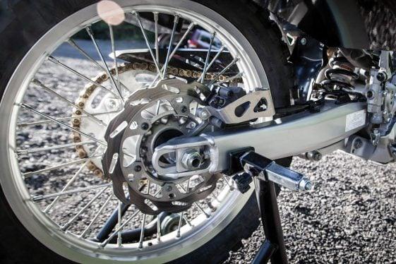Yamaha WR250R Rear Brake Caliper