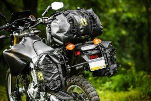 Yamaha WR250R mods - soft luggage