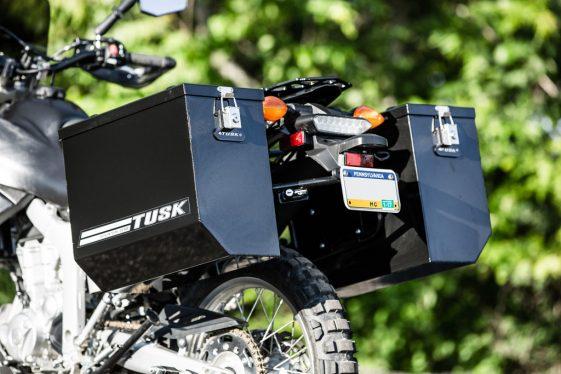 Yamaha WR250R Upgrades: Tusk Panniers