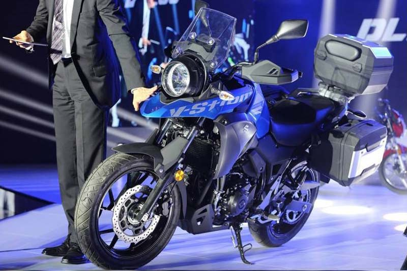 Suzuki Unveils New V Strom 250 Adventure Bike Concept Adv Pulse