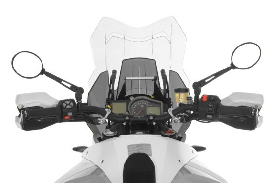 Touratech Adjustable Folding Dual Sport Mirrors