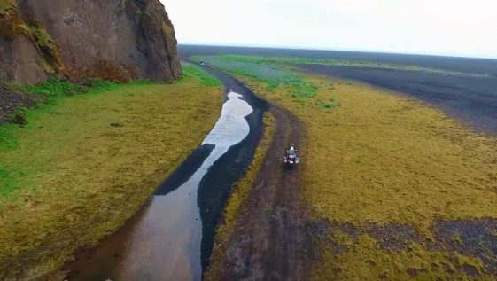 Alex Chacón Riding Iceland on Adventure Motorcycles