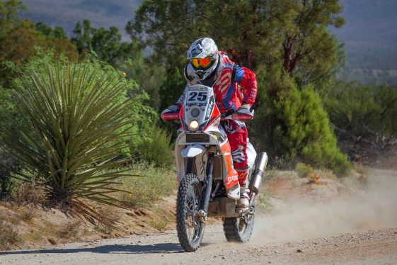Baja Rally Competitor