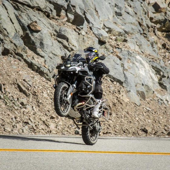 BMW R1200GS Adventure Wheelie