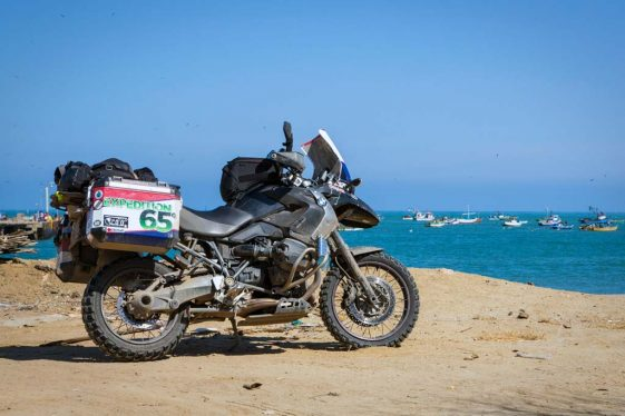 Fonzie's BMW R1200GS - Expedition 65