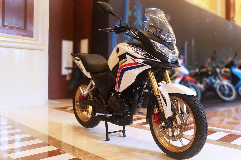 Honda Small Engine >> Honda CBF190X: A Mini Africa Twin Coming? - ADV Pulse