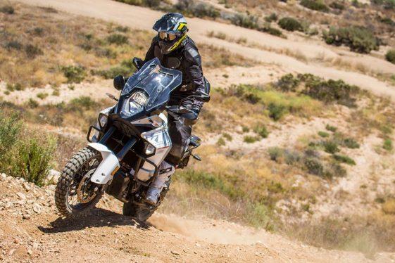 KTM 1290 Super Adventure Hill Climb