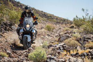 KTM 1290 Super Adventure Riding the Rocks