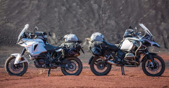 ktm 1290 super adventure vs bmw r1200gs adventure test