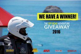 Jon Miller - winner of the off-road adventure summer giveaway 2016
