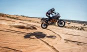 Quinn Cody racing the KTM 1190 Adventure R