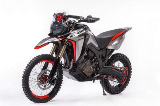 Yamaha Tenere 700 prototype Adventure Motorcycle
