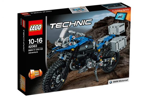 LEGO Technic BMW R1200GS Adventure Motorcycle