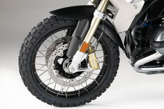BMW R1200GS Rally cross-spoke wheels in black