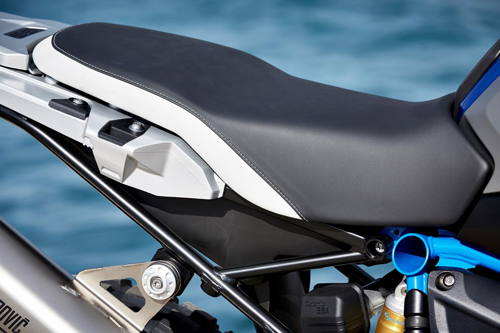 BMW R1200GS Rallye one-piece bench seat