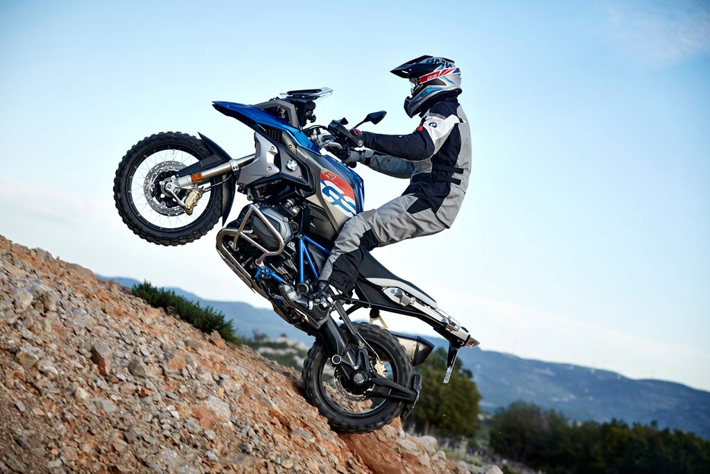 new bmw r1200gs rallye offers improved off road. Black Bedroom Furniture Sets. Home Design Ideas