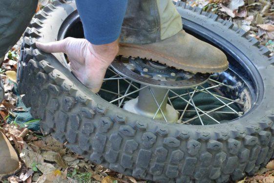 motorcycle tire puncture repair