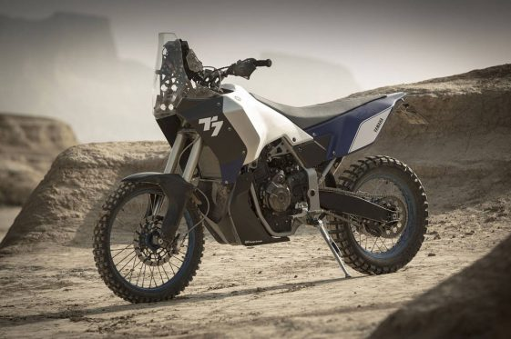 Yamaha T7 Conectp Adventure Motorcycle