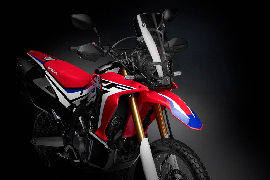 new 2017 honda crf250 rally unveiled at eicma adv pulse. Black Bedroom Furniture Sets. Home Design Ideas
