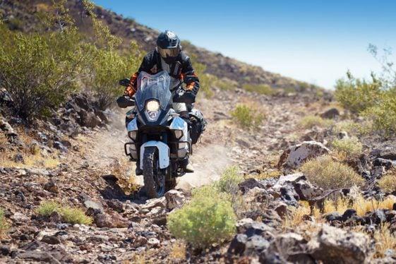 KTM Super Adventure Riding the Rocks