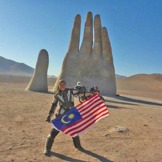 Mujeres Riders: Anita Yusof Adventure Rider