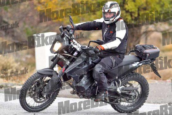 2018 KTM 790 Adventure spied
