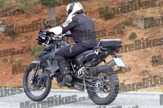 KTM 790 Adventure prototype