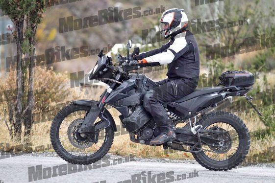 KTM 790 Adventure testing