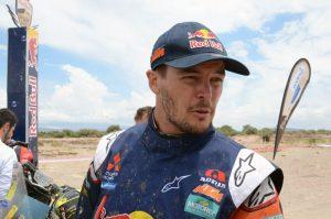 Toby Price Dakar Rally 2017