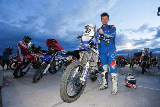 Adrien Van Beveren Dakar 2017