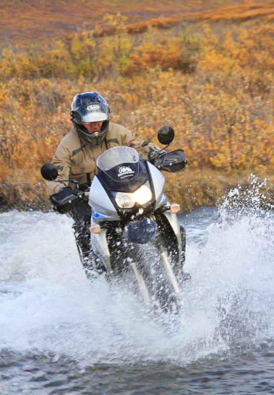 Alaska Motorcycle Tours bumpy road