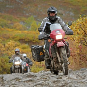 Alaska Motorcycle Tours bumpy road